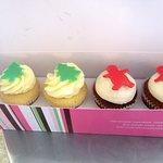 Holiday Cupcakes, Kara's Cupcakes, Oxbow Market, Napa, CA