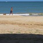 Playa Verde a short taxi ride away has nice sand