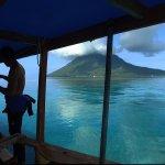 Safety briefing before dive. Bunaken Island