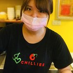 I love Chillies , own idea for uniform