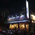 Beautiful evening view , Chillies Indian Restaurant Taichung