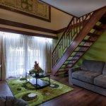 Duplex room with kitchenette