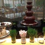 Sunday dessert buffet