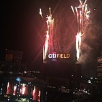 Fireworks at End of Citi Field Concert
