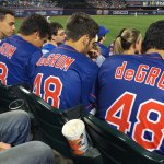 Free Jerseys Worn at Mets Game at Citi Field
