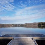 Even in December, the view of Lake Massawippi is spectacular!