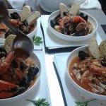 Cacciucco alla Livornese ( Tuscany Fish Soup)