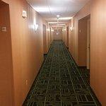 Hallway is nice