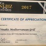 Dinakis Meditteranean Grill