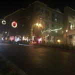 Santana Row, view from restaurant