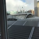 room with dubious view - the roof of Paddington Station