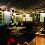 Teräväpää Apartment - Upstairs Kitchen/Living area