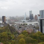 Euromast Tower and the view of rotterdam from the top