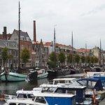 The oldest quartier in rotterdam