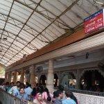 Entrance to main bhavan