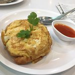 Fluffy Crab Meat Omelette (100.-)