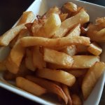 Home cooked chips.