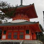 高野山壇上伽藍の写真