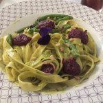 Purple basil pesto Genovese
