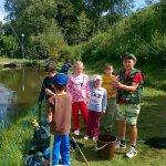 mlýnhotel - rybaření v rybníčku