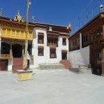 Inside Likir Monastery complex