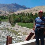 Beautiful mountain stream on way to Likir Monastery
