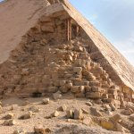 Eckdetail der Knickpyramide