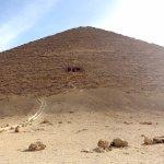 Aufgang zum Eingang der Roten Pyramide