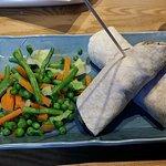 Wrap & Steamed Vegetables