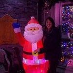 Myself and Santa