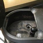 dirty water reservoir in coffeemaker