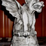 """paperweight sized gargoyle from the """"Gargoyles & Grotesques"""" store"""