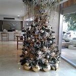 ya llego navidad en el hotel decorato todo hermoso