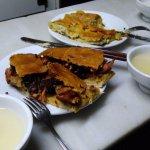 empanada de pulpo y sardina