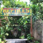 Reptile park entry