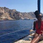 Traveling around the caldera