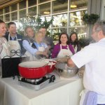 Mozzarella Cheese Demo, Round Pond, Napa Valley