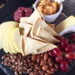 Awesome cheese plate!