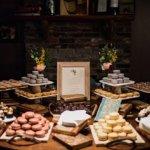 Fun desserts in the historic room
