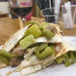 Piadina of Prosciutto Crudo, Provolone, Grilled Vegetables - all that for €4!