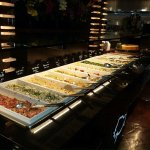 Part of Salad Bar with Prepared Salads