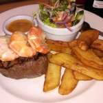 Surf and turf 8oz fillet