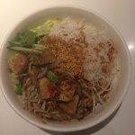 Bun sa , tofu with vermicelli noodle salad