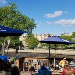 Lily PADio located right on the Cannon River. AWARD WINNING Patio consecutive years running!