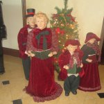 Christmas Carolers, Meritage Resort and Spa, Napa CA