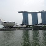 View of the Marina Bay Sands