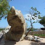 Unusual rock formations