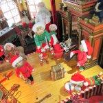 Christmastime second floor