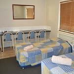 family room at our cheaper accommodation section