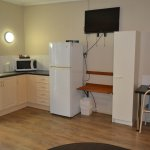 self contained family room at our cheaper accommodation section